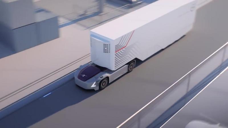Будущее грузоперевозок от компании Volvo (VIDEO ВАРЕНЬЕ)