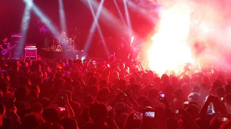 D.R.I. live Santiago Chile 2018
