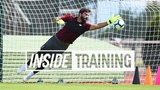 Inside Training Action-packed first session for Alisson Great goals, a world-class save and more