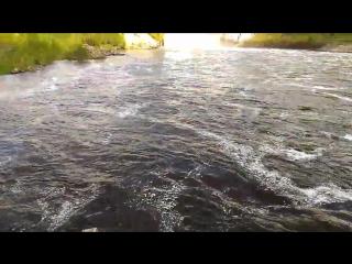 Широковское водохранилище на реке Косьва в Губахинском районе Пермского края