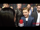 Maxwell Jenkins LostInSpace interviewed at 2018 NetflixFYSee Space FYC Emmys party