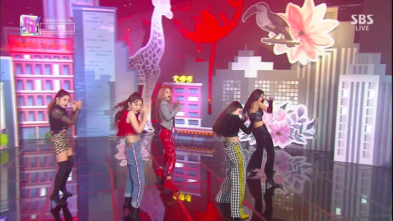 Comeback Stage 181202 Red Velvet 레드벨벳 RBB Really Bad Boy
