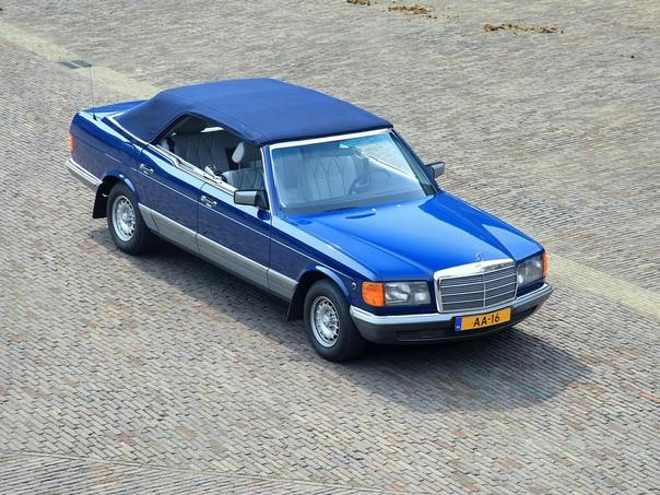 Очень редкие : Mercedes-Benz 380 SEL Caruna 1984