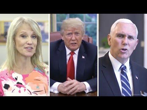 Trump on laurel-yanny debate: 'I hear covfefe'