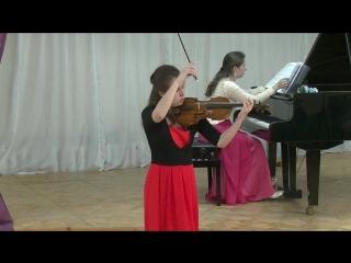 Татьяна Ерофеева (скрипка) и Анна Ерофеева (фортепиано).Кондопога 4 июня 2018.7