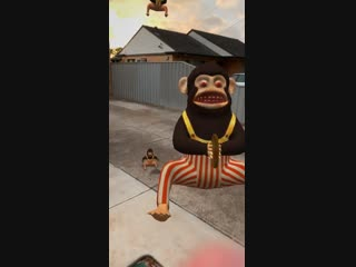 I made this Monkey Bomb augmented reality Snapchat lens. COD Zombies