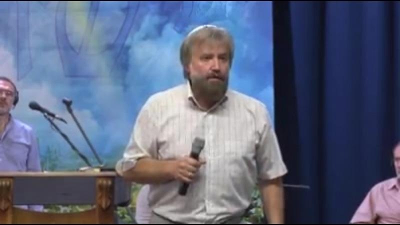 Раввин Борис Саулович Грисенко: Служитель ! Вылезай из своей ямы ! Rabbi Boris Saulovich Grisenko: Employee! Get out of your
