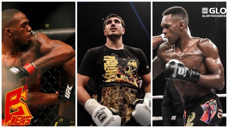 Джон Джонс отлично работает локтями, Исраэль Адесанья - открытие в MMA   Артем Вахитов GLORY