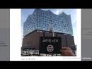 Hamburg- Unbekannter posiert mit IS-Flagge vor Elbphilharmonie