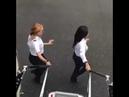 KIKI challenge by aeroplane pilot