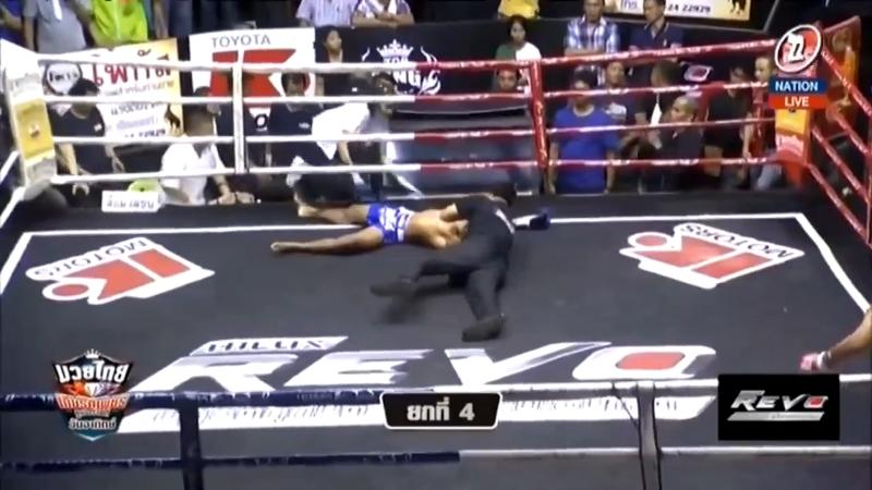 Суровый финиш. Muaythai Kiatphet Super Fight.