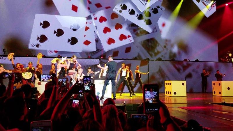 Ricky Martin 4k Shake your bon bon! 05/23/2018 (All In)Park Theater at Monte Carlo, Las Vegas