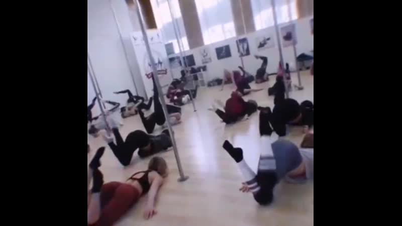 Floor Acrobatic of Anastasia Bagdasarova