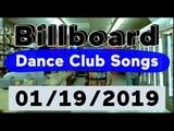 Billboard Top 50 Dance Club Songs (January 19, 2019)
