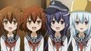 LEGAL LOLI Akatsuki,Hibiki,Ikazuchi and Inazuma - Kantai Collection: KanColle [60FPS]