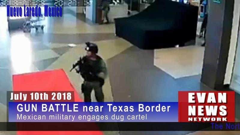 Los Zetas Cartel battles Mexican Troops near Laredo, Texas