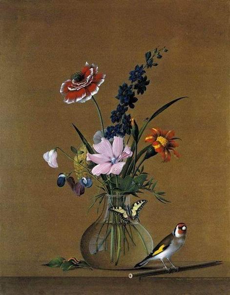 Толстой Федор Петрович (1783-1873) - живописец, медальер, скульптор, гравер, один из наиболее влиятельных деятелей в области русского искусства XIX века.Известен картинами-обманками -