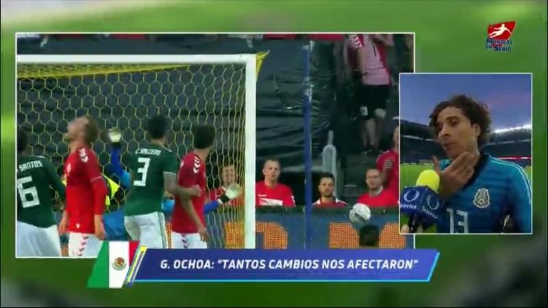 Nos faltó calma y posesión Ochoa Goles y Videos Televisa Deportes