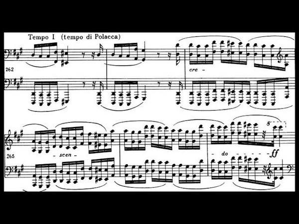 Chopin / Halina Czerny-Stefanska, 1959: Polonaise, Op. 44 in F sharp minor