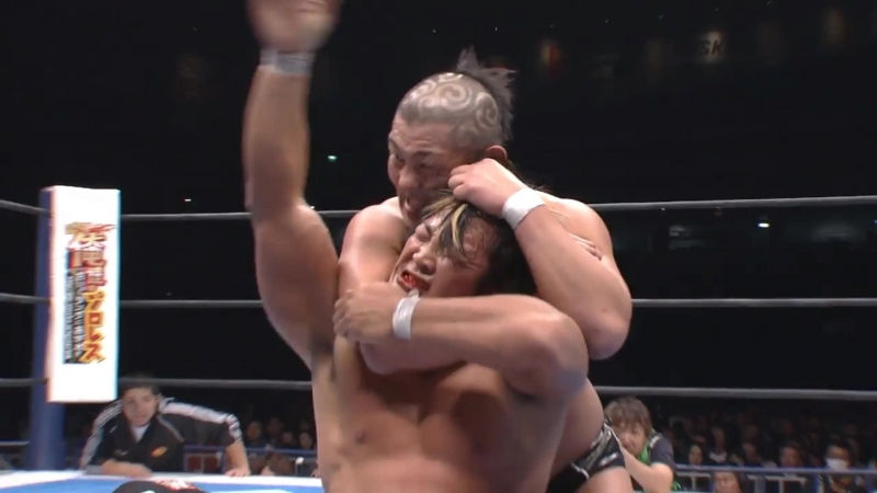 Hiroshi Tanahashi(с) vs. Minoru Suzuki Match for the IWGP Heavyweight Title (Wrestle Kingdom VI)