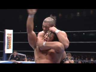 Hiroshi Tanahashi(с) vs. Minoru Suzuki Match for the IWGP Heavyweight Title (Wrestle Kingdom VI)