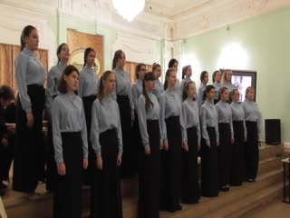 Академический женский хор 3-4 курсов