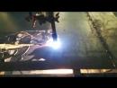 Работа плазмореза с тонким металлом