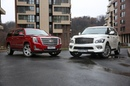 Infiniti QX80 vs Cadillac Escalade review 2016