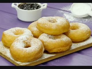 Мой любимый рецепт пышных пончиков!