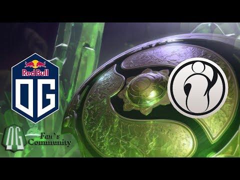 OG vs IG - Game 1 - The International 2018 - Group Stage.