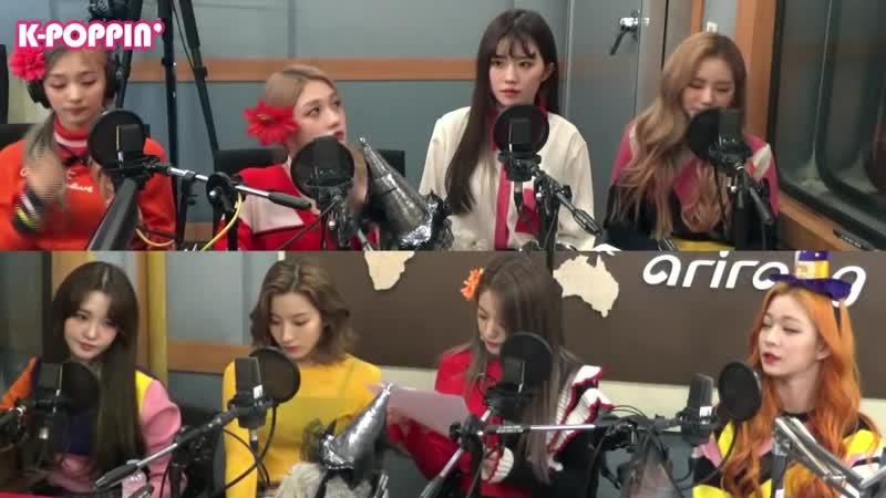 [K-Poppin] 프로미스나인 (fromis_9)s Relay Talk on Arirang Radio!