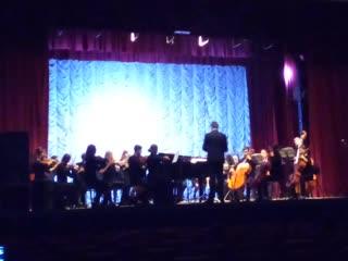 Студенческий симфонический ансамбль Л.В. Собинова. Концерт в Хвалынске.