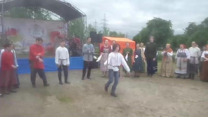 Русские песни и пляски в парке Малиновка 12 июня