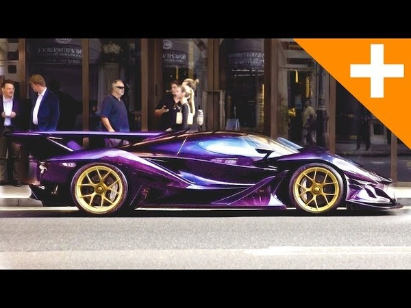 INSANE HYPERCAR, Apollo IE Driving In Central London With Crazy Loud Exhaust - Carfection