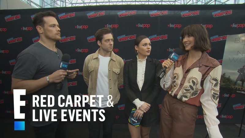 Outlander Stars Talk All Things America! | E! Red Carpet Live Events