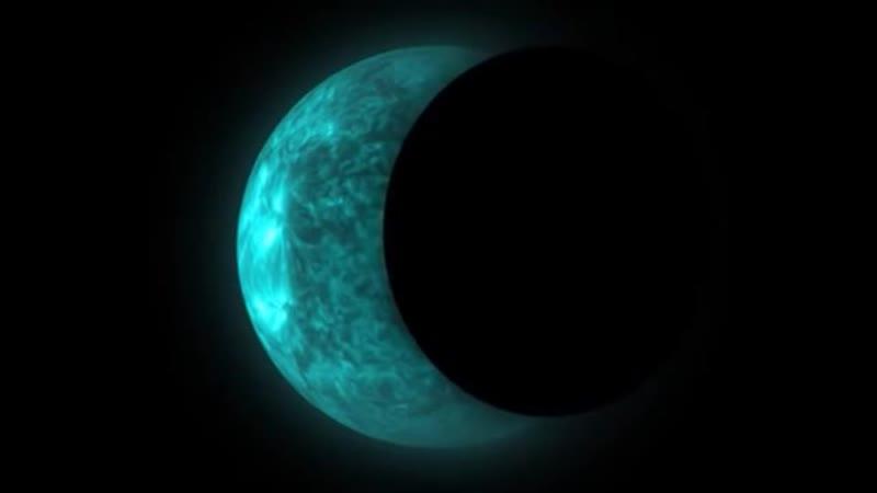 Очередной сбой матрицы фонаря Солнца над Плоской Землей