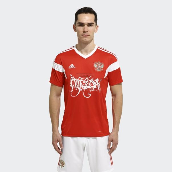 Футболка Главное (не) победа by adidas x Покрас Лампас