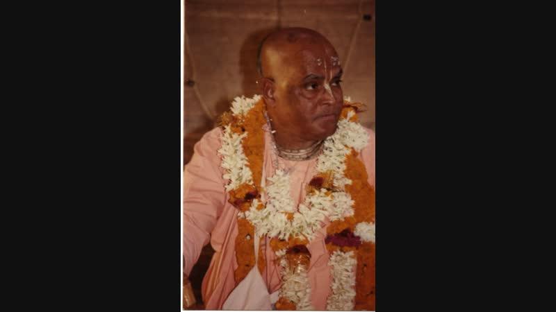 Sri Srimad Gour Govinda Swami - about GBC