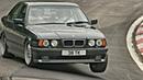 Best of BMW E34 BURNOUT DRIFT REVS