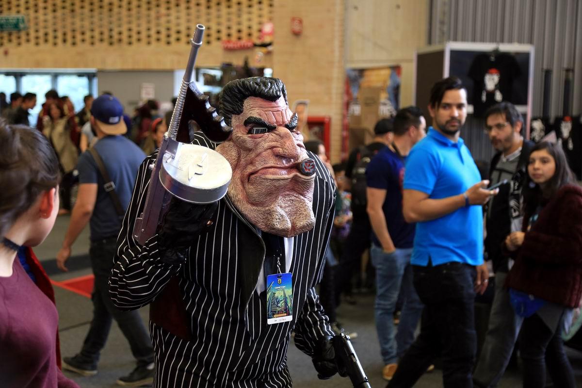 А мы бандито-гангстерито: На колумбийском карнавале