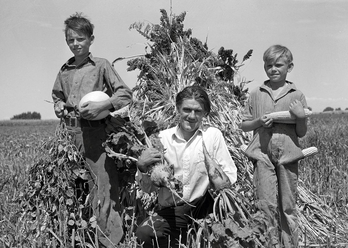 А мы собрали урожай: Какие мы красавцы (1939 год)