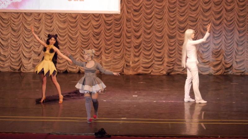 1.3.6. КОМАНДНОЕ ДЕФИЛЕ № 5 - Bishoujo Senshi Sailor Moon (Luna, Diana, Artemis) - Rista Armanti, Lussuria, Juu~, Москва, Мытищи