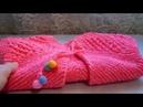 Детский жилетик спицами. Вязание для детей.
