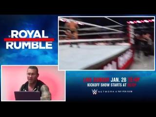 Реакция Рэнди Ортона на свою победу на Royal Rumble в прошлом году