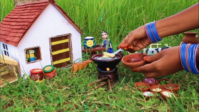 Miniature Aloo Chilli Honey aloo Chilli Recipe Minions Miniature Cooking 31