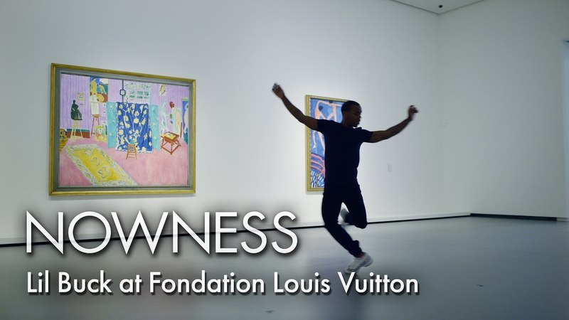 Lil Buck at Fondation Louis Vuitton