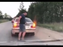 Taxi Driver Drags Passenger Out Throws Him Into The Street! Uber