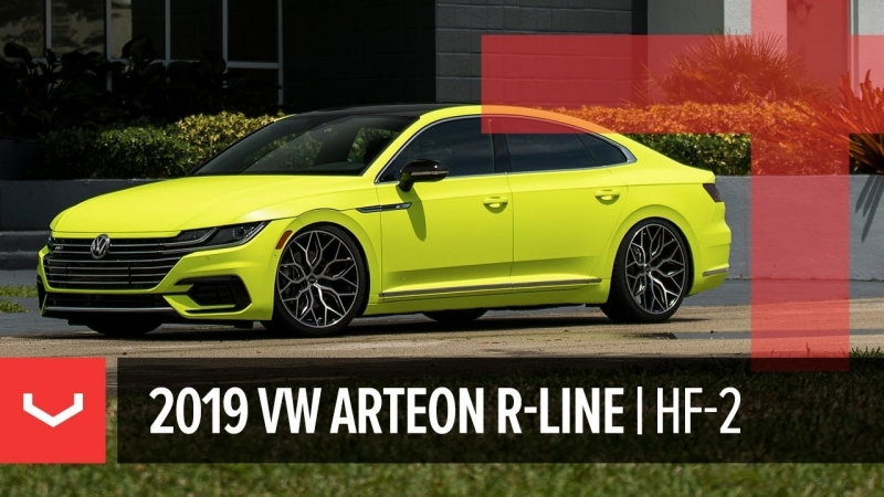 Vossen Hybrid Forged HF-2 Wheel | 2019 VW Arteon R-Line | VW Enthusiast Fleet