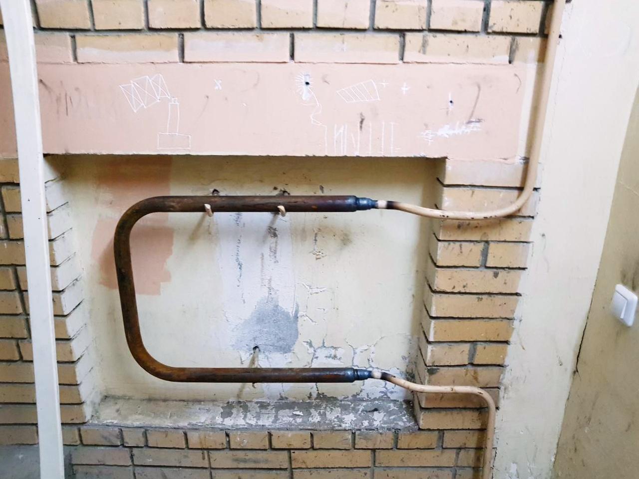 Восстановили отопление в подъезде на Гагарина, 4