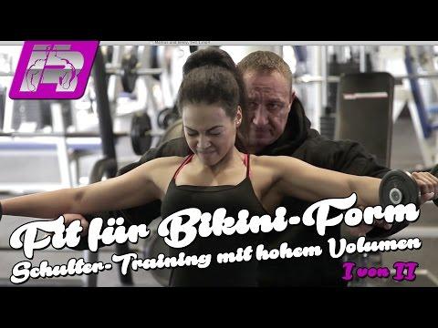 Markus Jenny - Schultertraining für Bikini-Figur - Teil 1 von 2